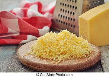queso, rallado