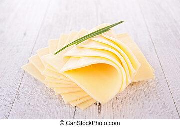 queso, rebanada