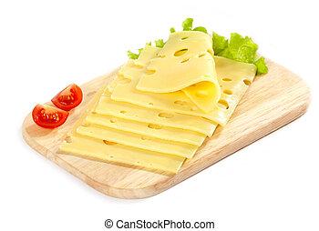 queso, rebanadas