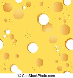 queso, vector, seamless, plano de fondo