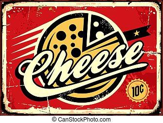 queso, vendimia, señal