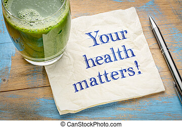 questões, lembrete, saúde, seu