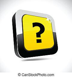 Question 3d square button.