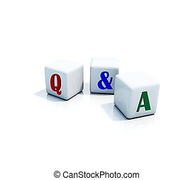 Question and answer cube