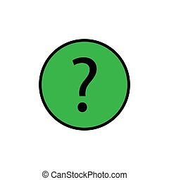 Question button icon