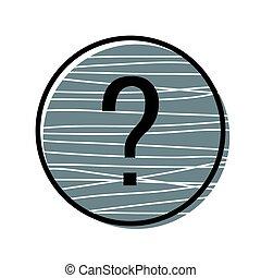 Question button icon