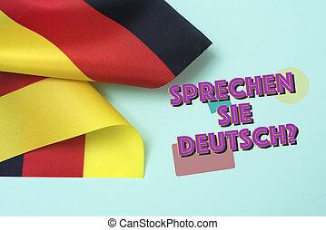 question do you speak German? in German
