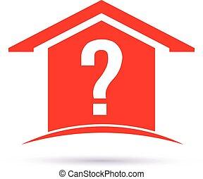 Question house logo