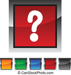 Question icons.
