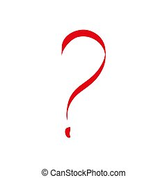 Question mark background - Illustration. vector