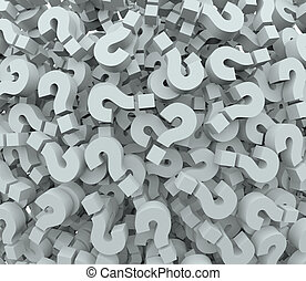 Question Mark Background Quiz Test Learning Imagination - A...