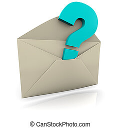 Question Mark Envelope