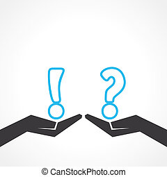 question mark & exclamatory symbol