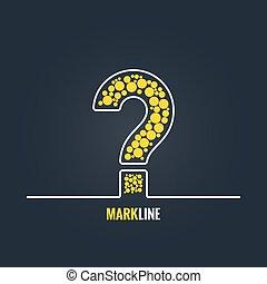 question mark FAQ help background