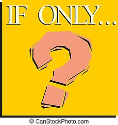 Question mark icon. sign on a yellow background. vector