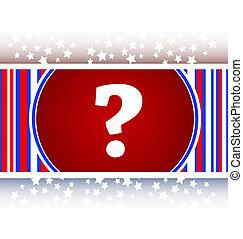 Question mark icon web button