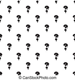Question mark isolated on white background