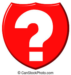 Question Mark Shield