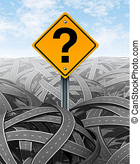 Question Mark Strategy - Question mark strategy in face of...
