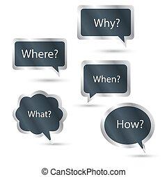 Question mark vector icon symbol illustration sign background concept design help faq ask graphic