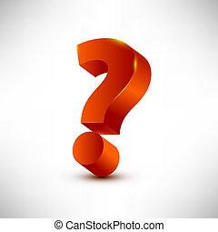 question mark vector illustration