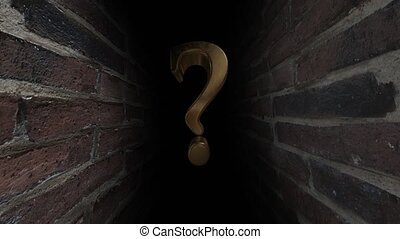 Question mark. What's there Unknown. What is it What is...