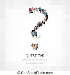question people vector