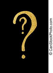 Question symbol conception