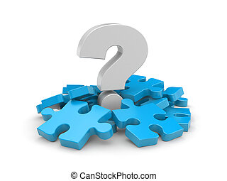Question with puzzles - The question around which lie the...
