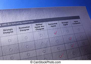 questionnaire, enquête, ou, formulaire