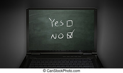 questionnaire no selection