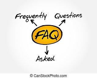 questions, faq, -, acronyme, frequently, demandé