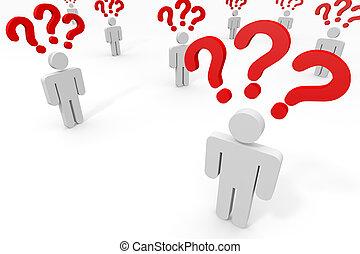 questions., lot