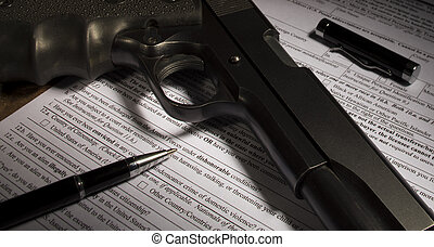 Questions on the firearm transfer paperwork