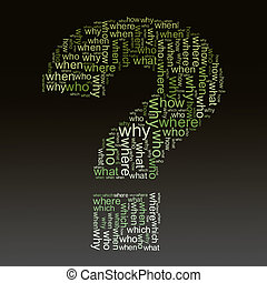 questions words tags