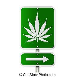 questo, marijuana, modo