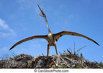 Quetzalcoatlus, pterosaur.