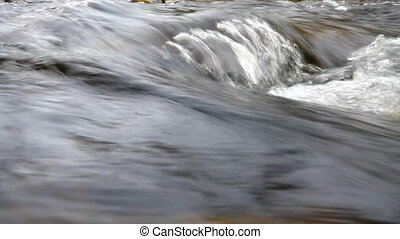 quick cheerful spring water - Ford of Creek and sound of...