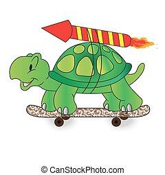 Quick turtle vector