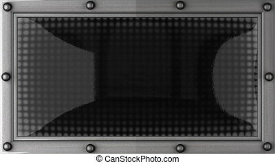 quiet announcement on the LED display