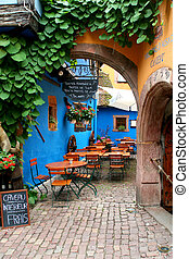 cafe - quiet cafe restaurant near strasbourg in france