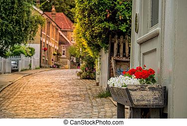 Quiet English village