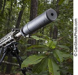 Quiet firearm