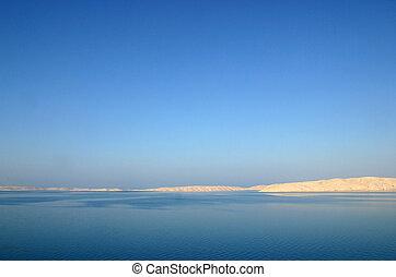 Quiet sea summer landscape
