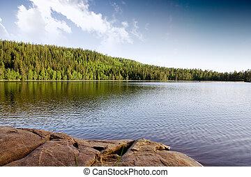 quieto, lago