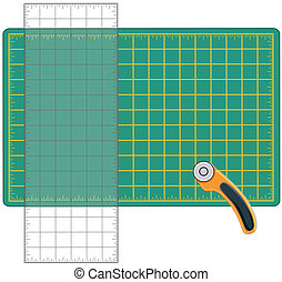 Quilt and Craft Tools - Self healing cutting mat,...