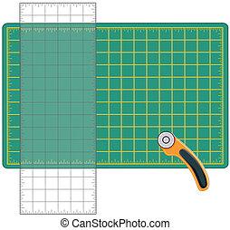 Quilt and Craft Tools - Self healing cutting mat,...
