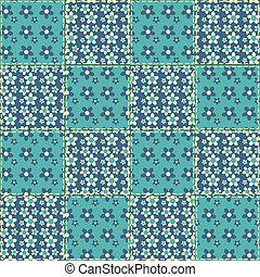 Quilt seamless pattern 6