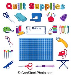 Quilt Supplies and Tools