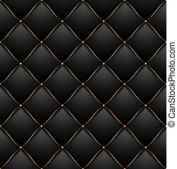 Black Quilted Wallpaper Vip abstract quilted b...